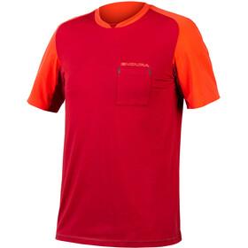 Endura GV500 Foyle Maglietta Uomo, rosso/arancione